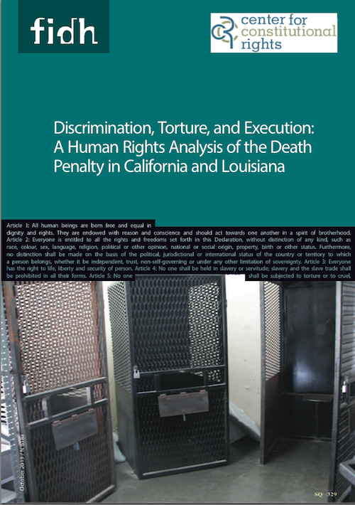 an analysis of the discrimination and the death penalty by katie matthews Understanding why the death penalty was restored the politics of capital punishment and in the final analysis, the restoration of the death penalty and.