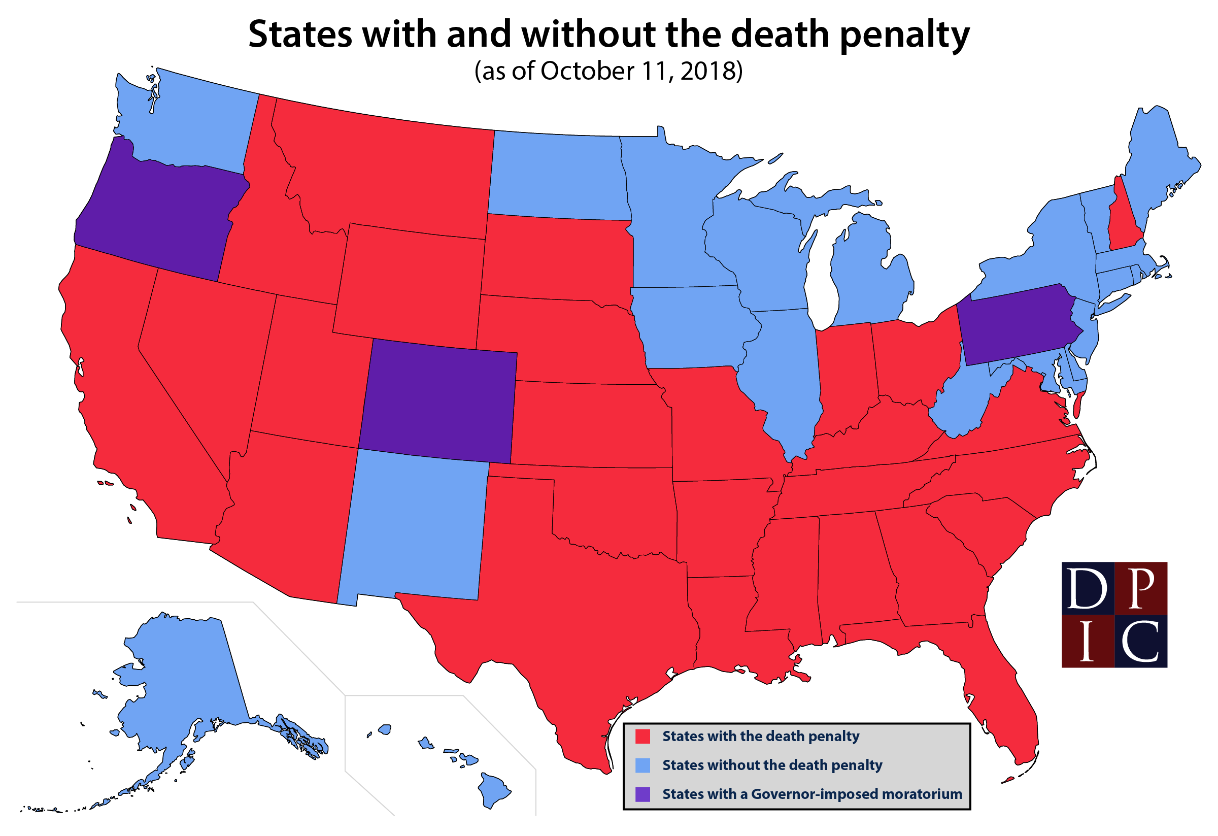States With and Without the Death Penalty | Death Penalty