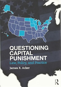 an argument in the legalization of capital punishment in all states of america The death penalty around the world  states are using untested combinations of misused  but 104 countries have now completely abolished capital punishment.