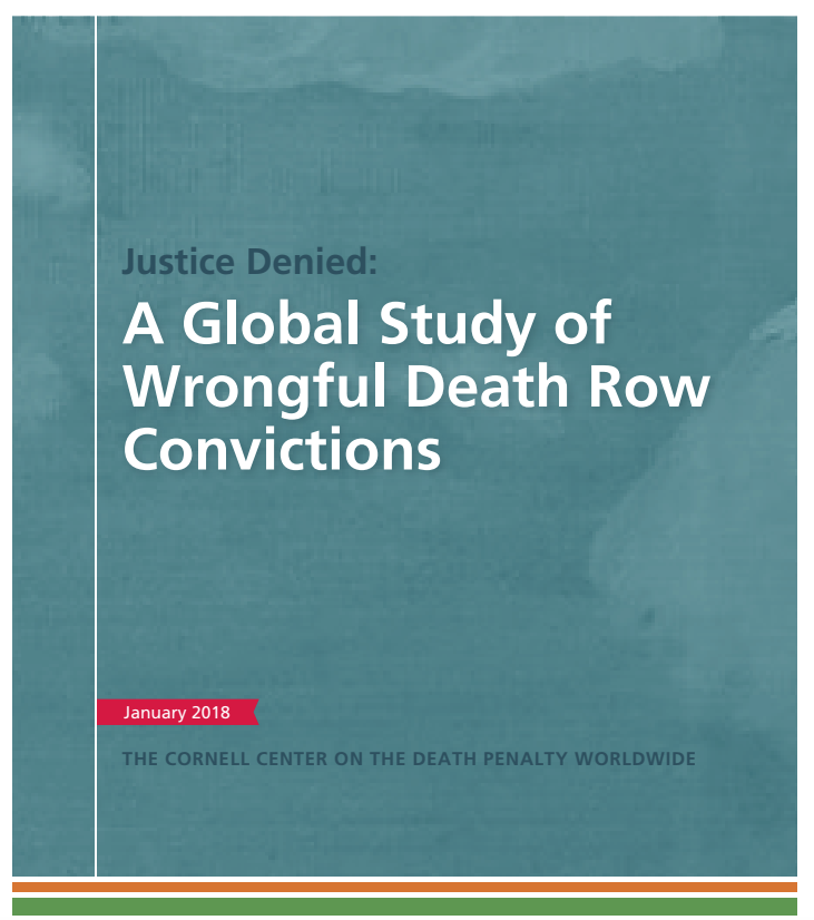 a study of death penalty in death work by robert johnson There are strong religious reasons for many to oppose the death penalty from essays on the death penalty, t robert an earlier study of 15 death-row.