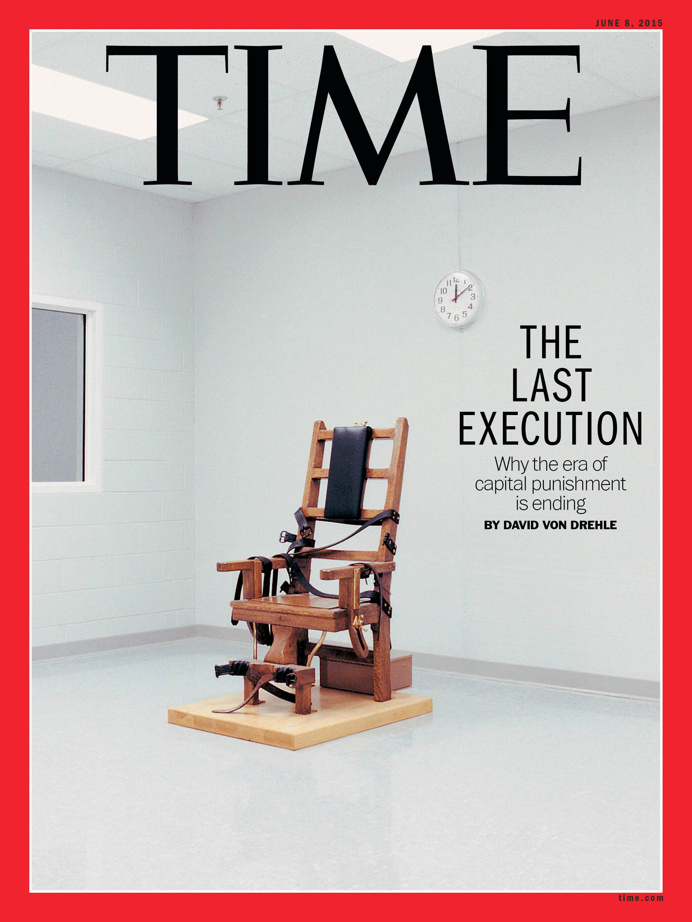 time magazine poses five reasons for death penalty decline death  time magazine poses five reasons for death penalty decline