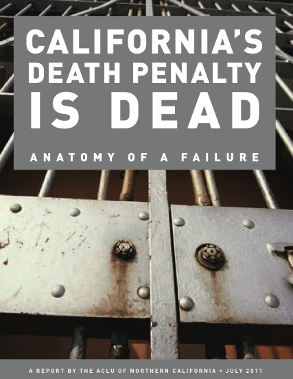 """a study of the death penalty The centre on the death penalty of the national law university, released on november 8, a judges' opinion study, titled """"matters of judgment"""" on the death penalty and the criminal justice system."""
