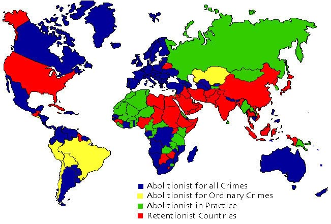 how many countries currently use capital punishment