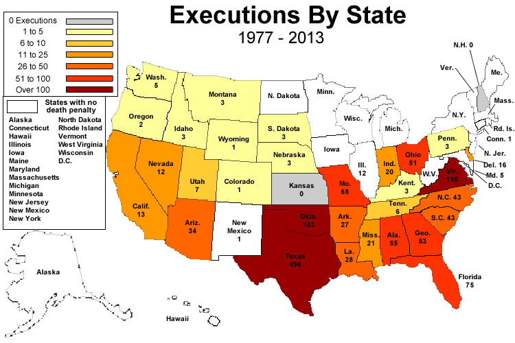 a study of capital punishment in united states Read cnn's fast facts about the death penalty in the united states.